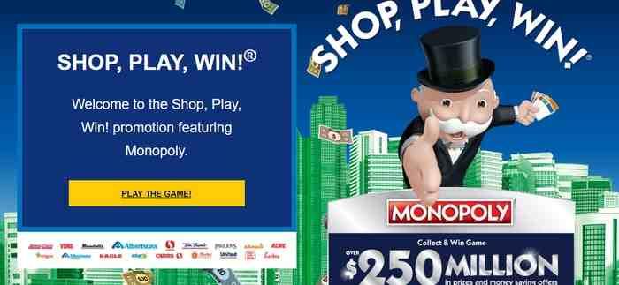 jewel osco monopoly