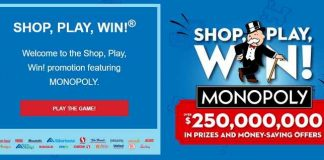 safeway shop play win monopoly 2020