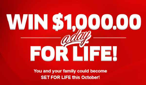 pch 1000 a day for life