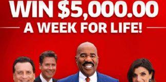 pch 5000 a week